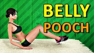 Lose Belly Pooch [Home Workout]