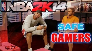 Did Gaming Keep You Out of Trouble? / NBA 2K14 Park Gameplay