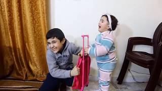 Celina helps Hasouna in House - سيلينا تساعد حسونة في المنزل