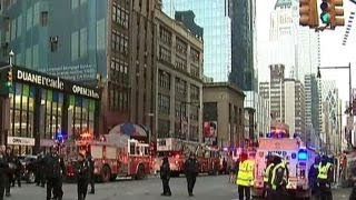 NYPD confirms explosion near Times Square