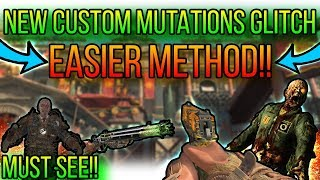 *NEW* EASIER CUSTOM MUTATIONS GLITCH - EARN XP AND DO EASTER!!(BO4 GLITCHES)