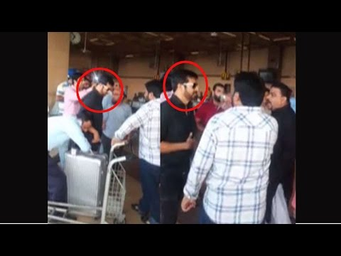 Attack on Kabir Khan At Karachi Airport