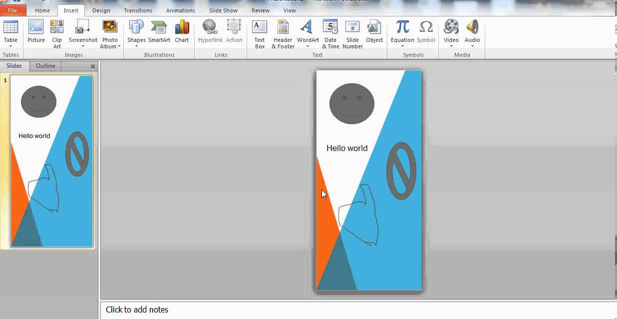 create infographics in powerpoint 2010 - youtube, Powerpoint templates