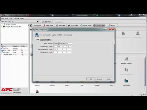 Video: NetBotz v3 | How do I configure DNS or Dynamic DNS?
