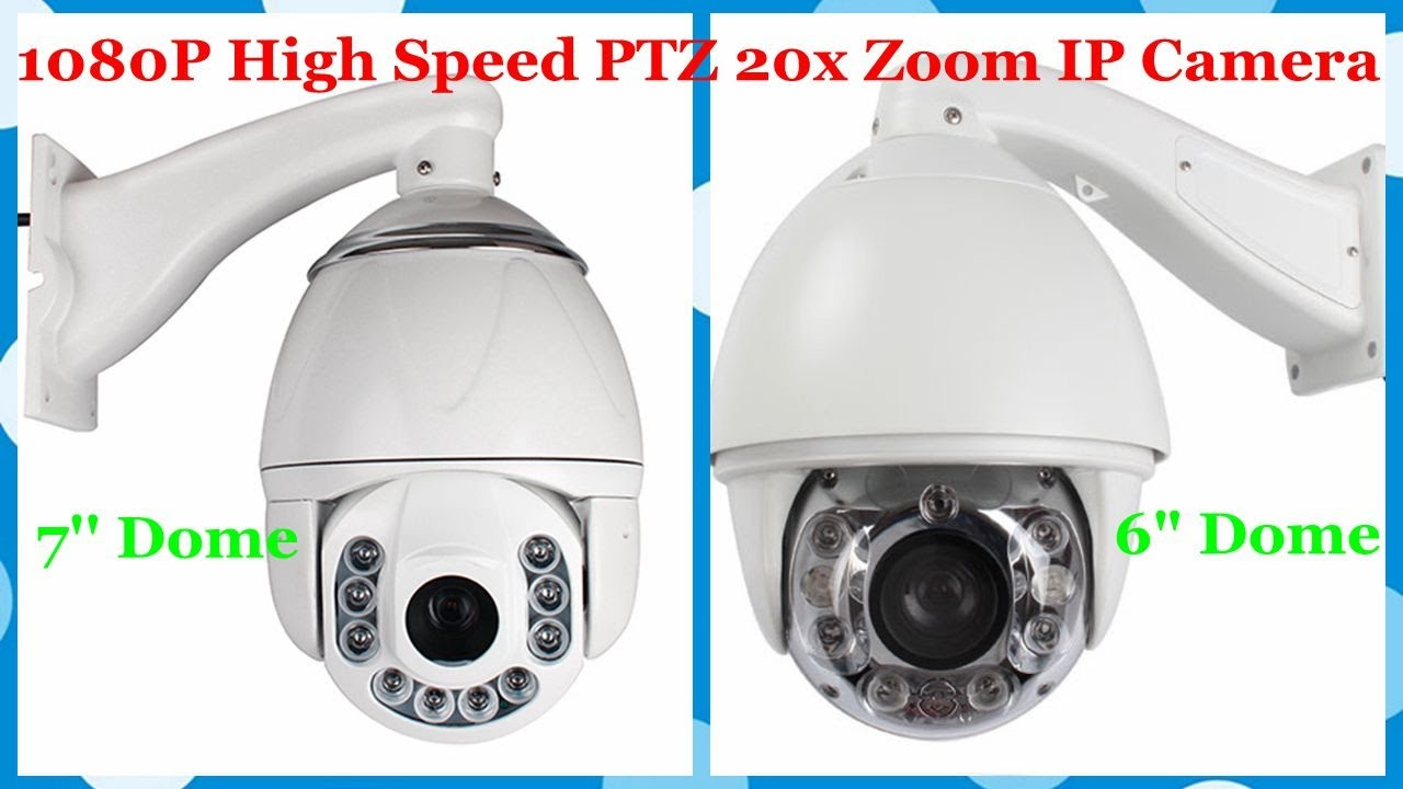 1080P HD High Speed PTZ 20x Zoom IP Camera Outdoor Shooting Effect  (SKU:IPA1513Q/IPA1537X)