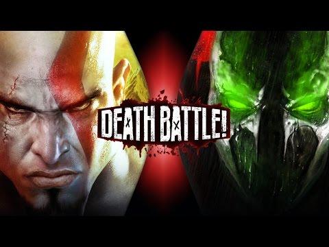 Kratos VS Spawn | DEATH BATTLE!