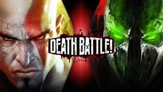 Kratos VS Spawn | DEATH BATTLE!