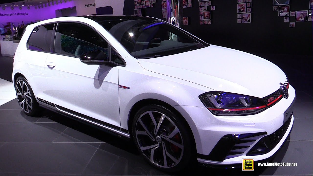 2016 Volkswagen Golf Gti Clubsport Exterior And Interior Walkaround 2017 Frankfurt Motor Show