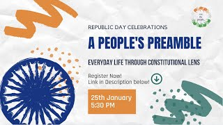 A People's Preamble, Everyday life through Constitutional Lens | We, The People Abhiyan