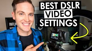 Best DSLR Settings for Video(Tutorial of the Best DSLR Settings for Video! ***** Download the FREE Think Media TV Video Gear Buyer's guide here: http://bit.ly/thinkvideoguide YouTube ..., 2016-12-06T17:16:01.000Z)