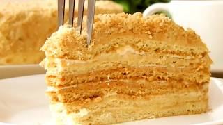 торт Медовик классический или Рыжик / Honey cake