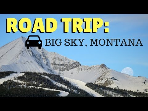 THE BEST ROAD TRIP TO MONTANA