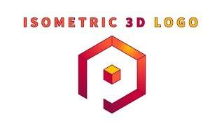 Adobe Illustrator - erstellen Sie eine Isometrische 3D-Logo (Buchstabe P)