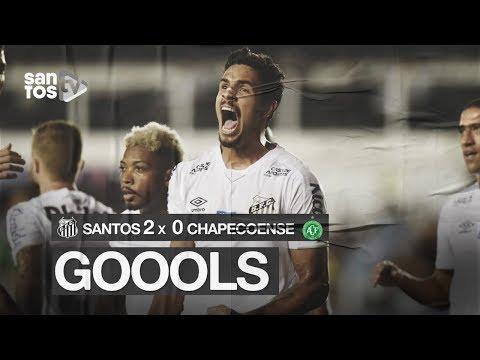 SANTOS 2 X 0 CHAPECOENSE | GOLS | BRASILEIRÃO (01/12/19)