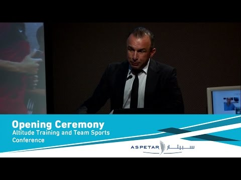 Opening Ceremony Altitude Training and Team Sports Conference