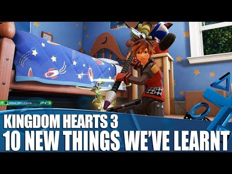 Kingdom Hearts 3 - 10 New Things We've Learned