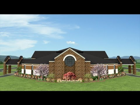 Chase Park Church of Christ Auditorium Addition - YouTube