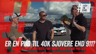 Den siger bare PREBEN. Kan en Peugeot 306 GTI nakke en Renault til 800.000 kr. og Renés Porsche 911?