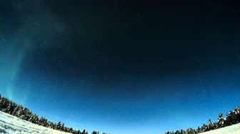 20151227-3am Aurora TimeLapse #PolarNightMagic