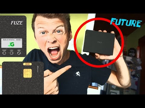 The FUZE Card - All In One Smart Credit Card - Unboxing, Set-up, How To Guide