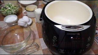 Домашние видео рецепты - заливной пирог с яйцом и луком в мультиварке