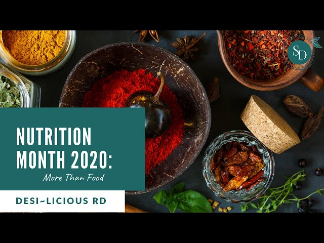Nutrition Month 2020: What It Means To Eat Healthy | Desi~licious RD