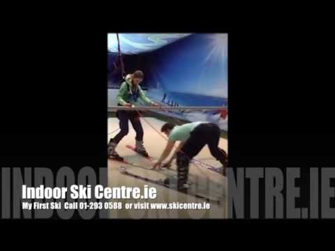 First Time Skiing at Indoor Ski Centre Dublin - No Limits just fun!