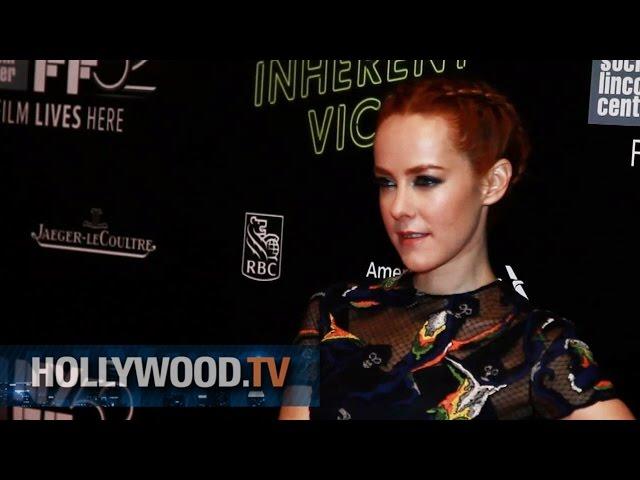 Martin Short and Jena Malone at the NYFF - Hollywood.TV