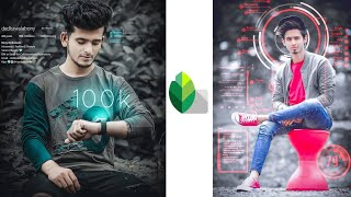 Gambar cover Futuristic Photo Editing Tricks In Snapssed 🔥 || Snapseed Photo Editing || SK EDITZ
