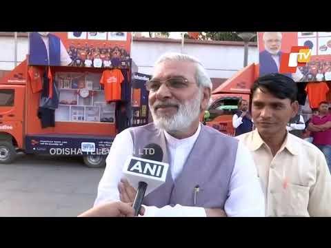 PM Narendra Modi's look alike at BJP headquarters in Delhi