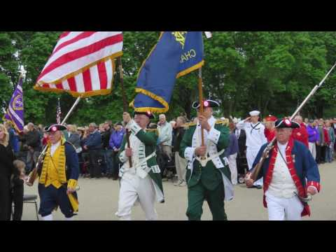 Fort Snelling 2017 Memorial Day Service