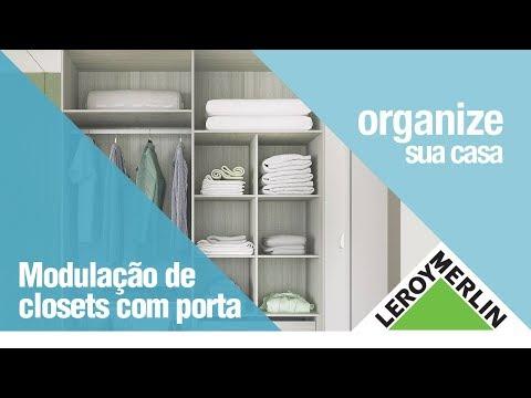 Closets e Organizadores - Preços Imperdíveis | Leroy Merlin