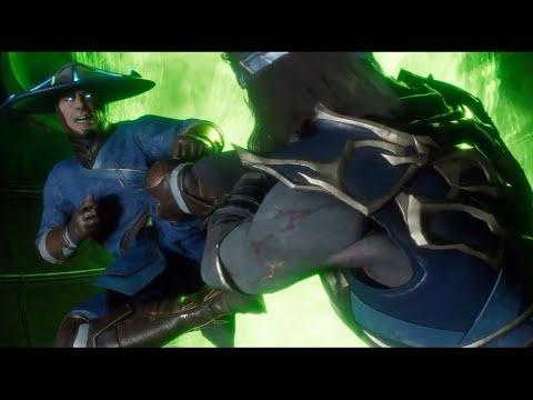 Raiden Mata A Liu Kang en Todas Las Dimensiones Posibles MK11