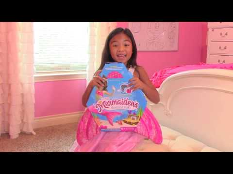 Thumbnail: Dreams Do Come True Live Mermaid's Tale 1 In our Pool | Toys Academy