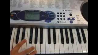 피아노코드 5분만에 배우기