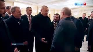 Президентский юмор    Путин пригласил Эрдогана приехать в Сибирь   там минус 40 и можно по