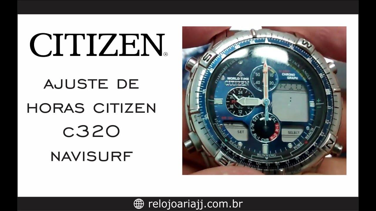 d4830c5c21c Ajustar hora do Citizen - YouTube
