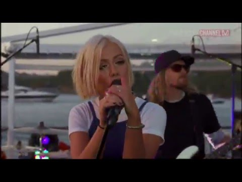 Tonight Alive - Live Set at V Island Party Sydney Harbour 20