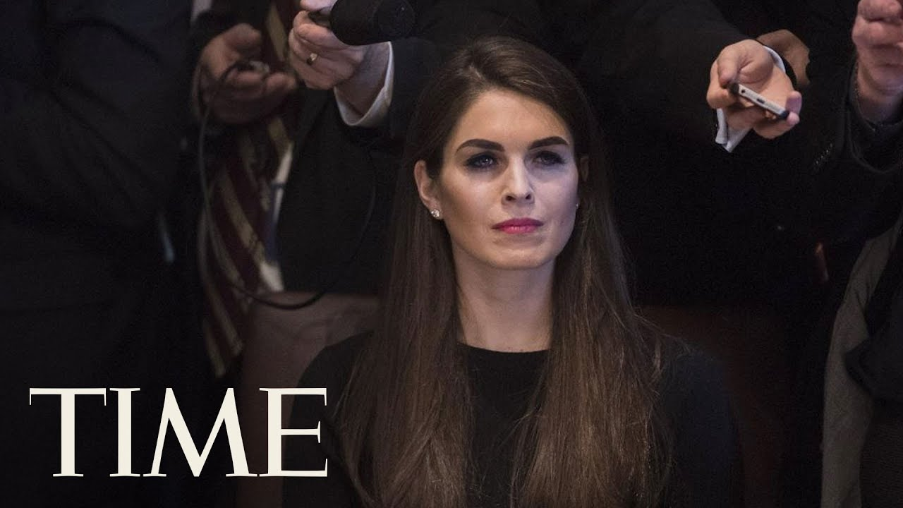 Hope Hicks is officially the White House communications director