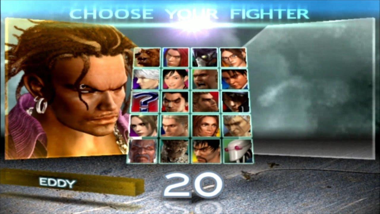 Tekken 4 Eddy Gordo Youtube