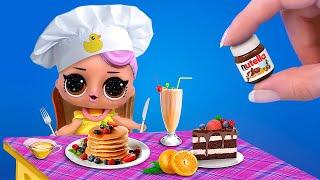 Миниатюрная еда и напитки – 12 идей / Лайфхаки для мини кухни