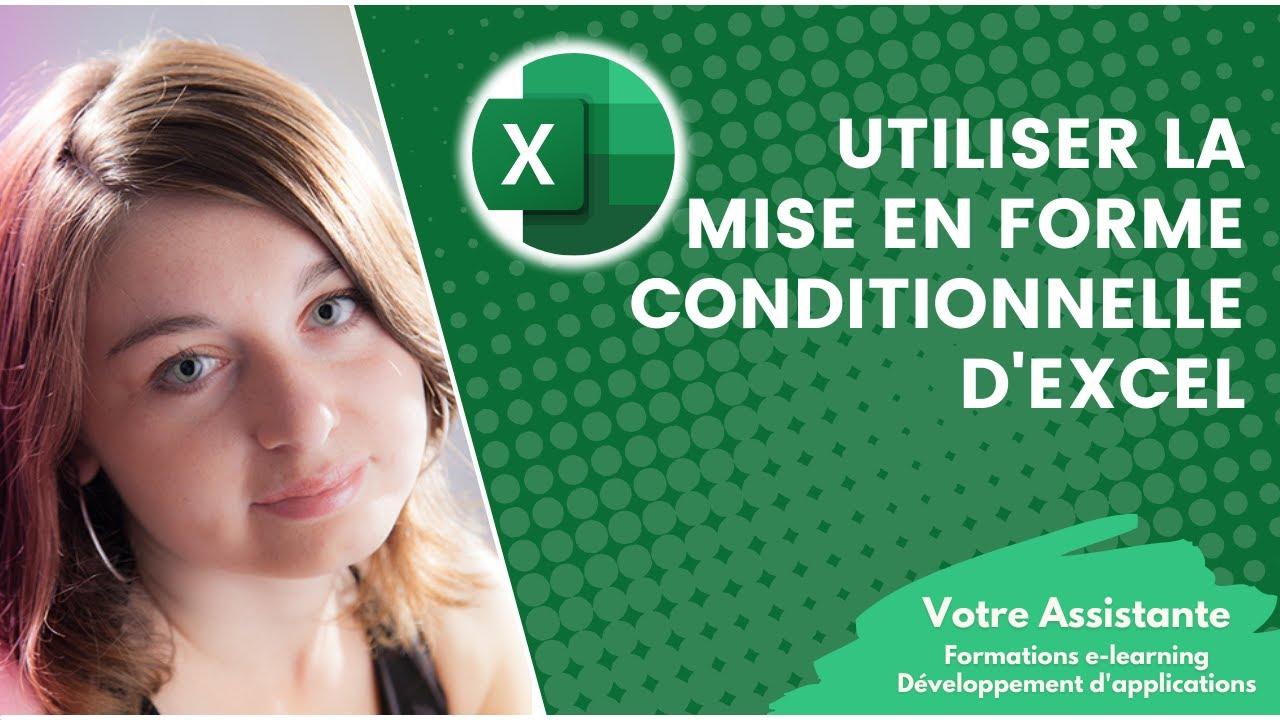 Utiliser la mise en forme conditionnelle dexcel youtube utiliser la mise en forme conditionnelle dexcel ccuart Choice Image