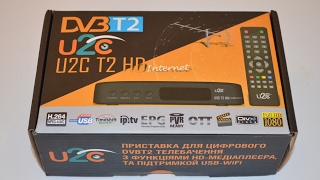 Супер новинка! Т2 Тюнер (ресивер) U2C T2 HD Internet - Обзор и настройка