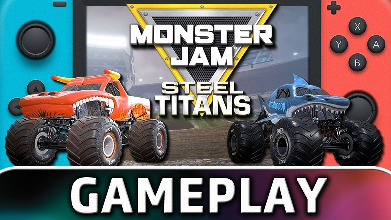 Monster Jam Steel Titans | 5 Minutes of Gameplay on Nintendo Switch