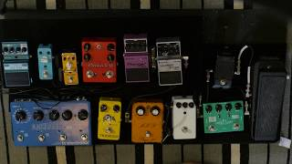new shoegaze psych pedalboard   build and playthrough