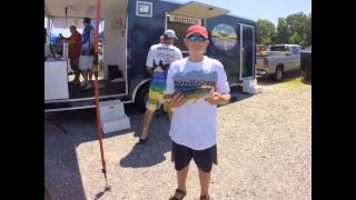 Bass Quest Stop #4  Smith Mountain Lake June 28,2015
