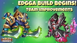 Idle Heroes (S) - Making Progress! Eddga Build Begins