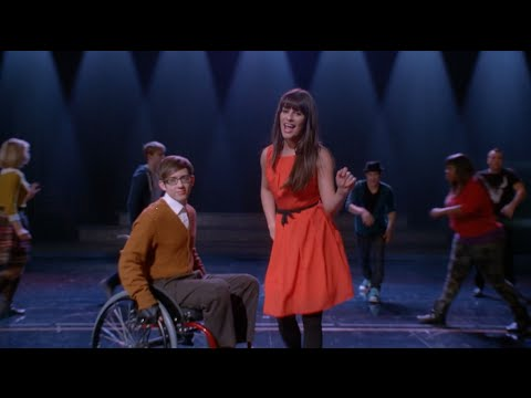 GLEE - Black or White (Full Performance) HD