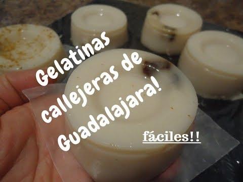 GELATINAS SABOR CALLEJERAS DE GUADALAJARA JALISCO - Lorena Lara