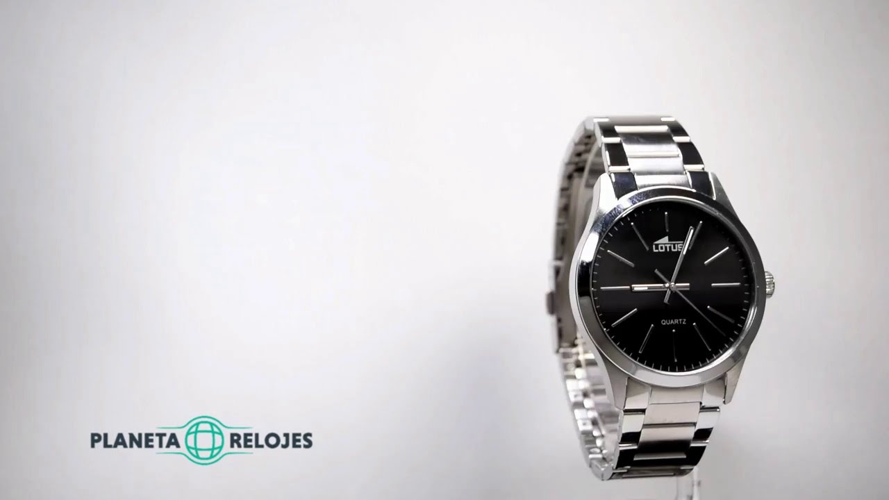 d92dbfb6a67f Reloj Lotus 15959-3 - YouTube